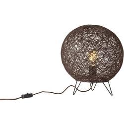 Namizna svetilka LED GU10 25 W EEK: odvisno od svetilke (A++ - E) Brilliant Papyrus 93736/20 Rjava