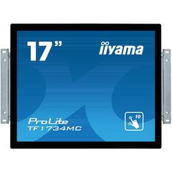 Iiyama ProLite TF1734MC-B6X monitor z zaslonom na dotik EEK: A (A+++ - D) 43.2 cm(17 palec)1280 x 1024 piksel 5:4 5 ms VGA, HDMI