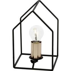 Namizna svetilka EEK: odvisno od svetilke (A++ - E) Brilliant Home 94906/76 Črna, Bakrena