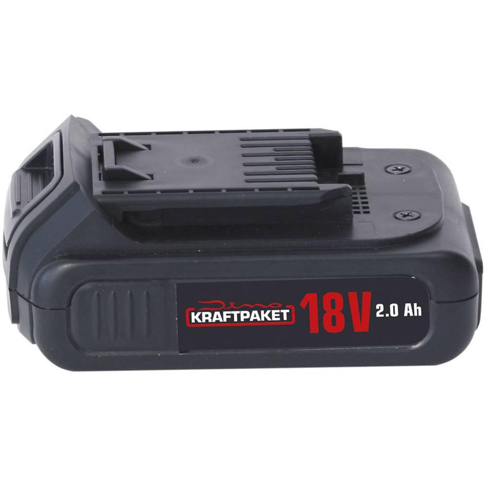 Dino KRAFTPAKET AKKU 18v 2Ah für Akku-Schlagschrauber 130200 130201 akumulatorsko električno orodje 18 V 2 Ah li-ion
