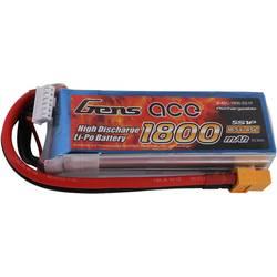 Gens ace LiPo akumulatorski paket za modele 18.5 V 1800 mAh Število celic: 5 45 C Mehka torba XT60