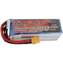 Gens ace LiPo akumulatorski paket za modele 18.5 V 2200 mAh Število celic: 5 45 C Mehka torba XT60