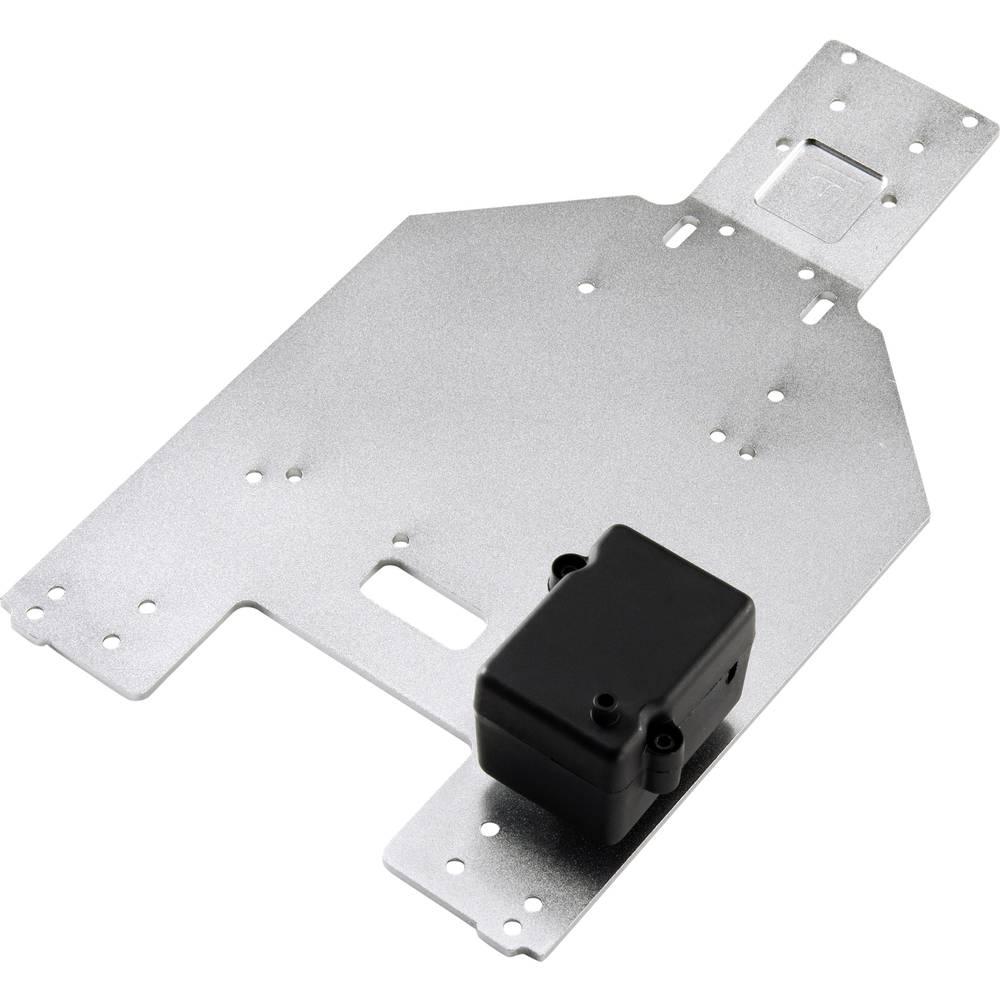 Reely 1991060 tuning del aluminijasta plošča za šasijo in rc vmesnik