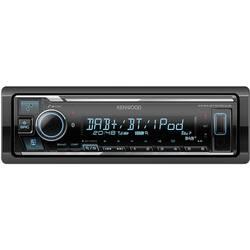 Kenwood KMM-BT505DAB Avtoradio DAB + Radijski sprejemnik, Bluetooth® komplet za prostoročno telefoniranje, Priključek za vol