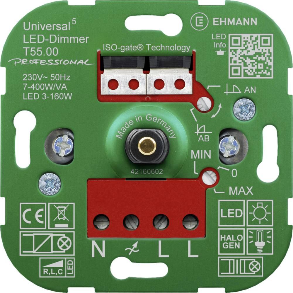 Univerzalni zatemnilnik Primerno za svetilke: Klasična žarnica, Halogenska žarnica, LED žarnica Ehmann 5500x0000