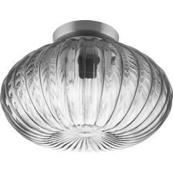 stropna svetilka led E27 40 W LEDVANCE Vintage 1906 Carved 4058075217140 dimno siva, legirano jeklo