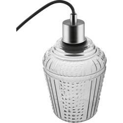 LEDVANCE Vintage 1906 Carved 4058075217249 viseča svetilka led, halogenka E27 dimno siva