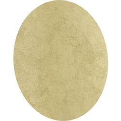 WOFI Angers 4330.01.15.8400 LED zidna svjetiljka 18 W toplo-bijela zlatna folija boja