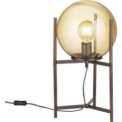 namizna svetilka led E27 40 W WOFI Ronda 8539.01.09.8000 rjava