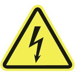 opozorilna tabla opozorilo pred električno napetostjo umetna masa 100 kos