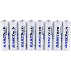 Basetech mignon (aa)-akumulator nimh 2750 mAh 1.2 V 8 KOS