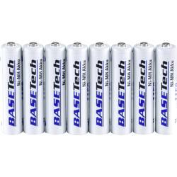 Basetech Micro (AAA)-Akumulator NiMH 1100 mAh 1.2 V 8 KOS