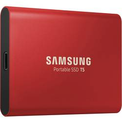 Vanjski SSD tvrdi disk 1 TB Samsung Portable T5 Crvena USB-C™ USB 3.1