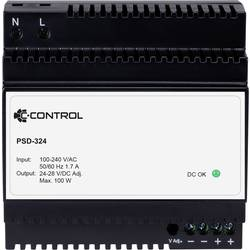 C-Control PSD-324 DIN-napajanje (DIN-letva) 24 V/DC 4.2 A 100 W 1 x