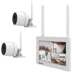 Inkovideo INKO-EL0206 wlan ip -set nadzorne kamere 4-kanalni z 2 kamerama 1920 x 1080 piksel