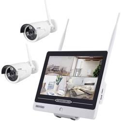 Inkovideo INKO-AL3003-2 wlan ip -set nadzorne kamere 4-kanalni z 2 kamerama 1920 x 1080 piksel