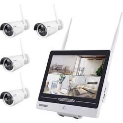 Inkovideo INKO-AL3003-4 wlan ip -set nadzorne kamere 4-kanalni s 4 kamerami 1280 x 960 piksel