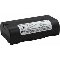 Akku Med akumulator za medicinsko tehniko Nadomešča originalno baterijo 72420 Welch Allyn 7.4 V 1700 mAh
