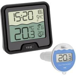 TFA Dostmann Funk-Poolthermometer Marbella termometar za bazene crna