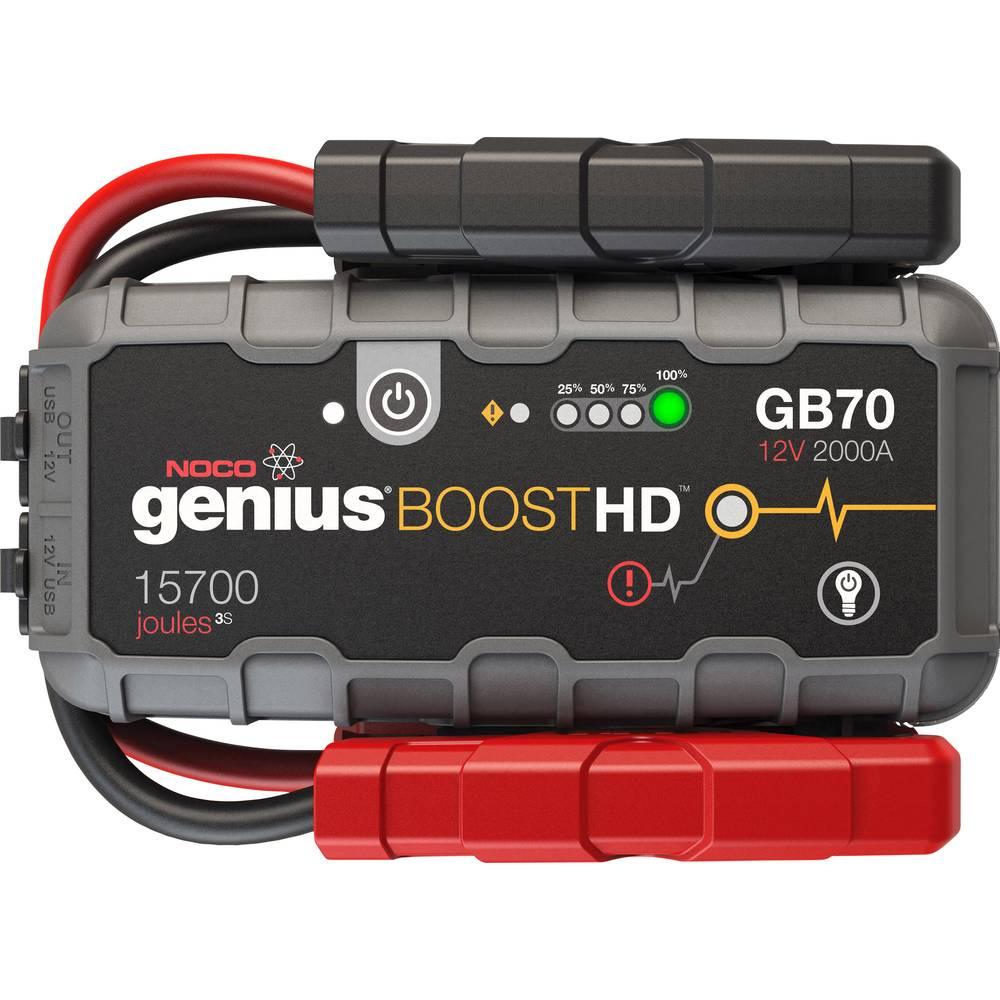 NOCO sistem za hitri zagon HD 2000A Lithium Jump Starter GB70 Tok pomoči ob zagonu=2000 A