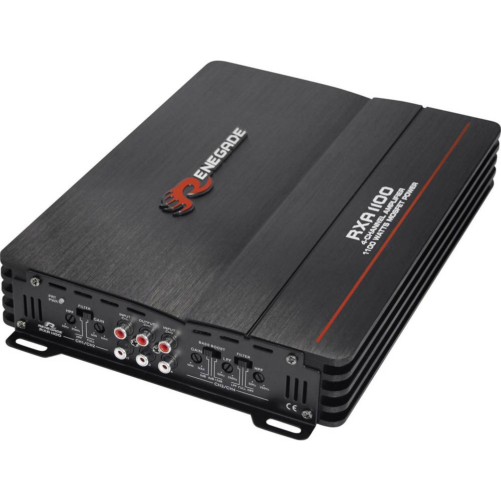 Renegade RXA1100 4-kanalni ojačevalnik 600 W