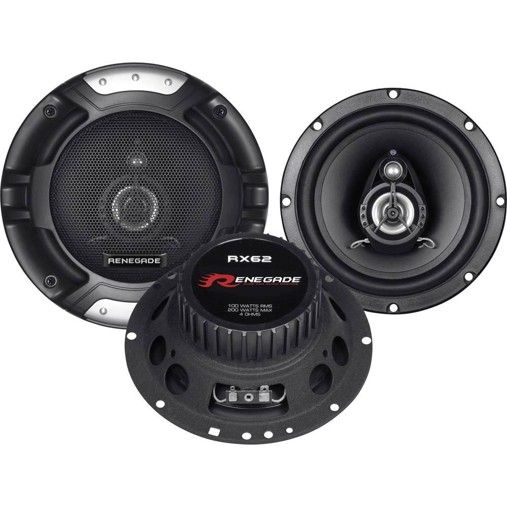 Renegade RX62 2-sistemski koaksialni zvočniki za vgradnjo 200 W Vsebina: 1 Par