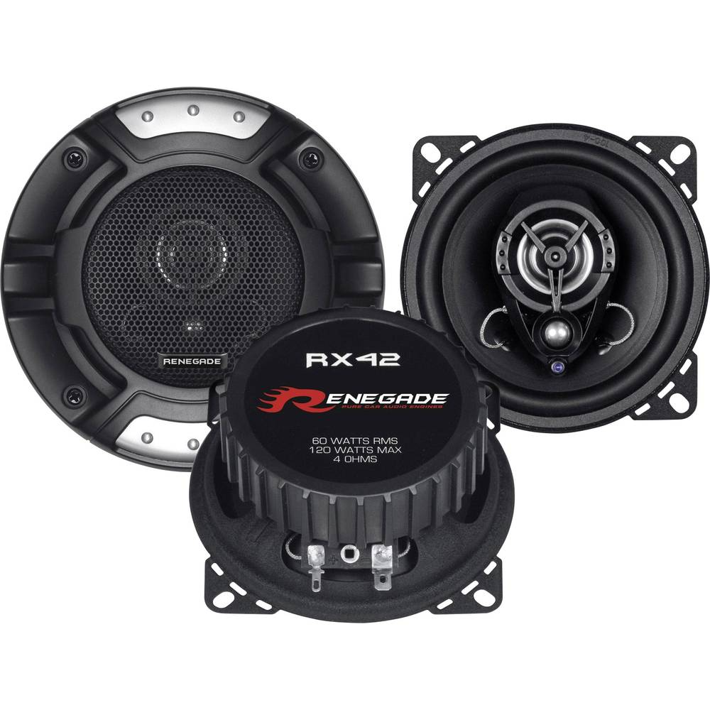 Renegade RX42 2-sistemski koaksialni zvočniki za vgradnjo 120 W Vsebina: 1 Par