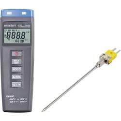 VOLTCRAFT K102 + TP203 Mjerač temperature Kalibriran po DAkkS -200 Do +1370 °C Tip tipala K