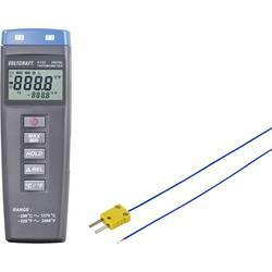 VOLTCRAFT K102 + TP202 Mjerač temperature Kalibriran po DAkkS -200 Do +1370 °C Tip tipala K