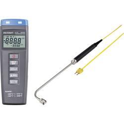 VOLTCRAFT K102 + TP206 Mjerač temperature Kalibriran po DAkkS -200 Do +1370 °C Tip tipala K