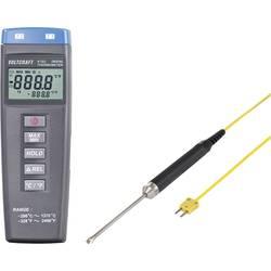 VOLTCRAFT K102 + TP207 Mjerač temperature Kalibriran po DAkkS -200 Do +1370 °C Tip tipala K