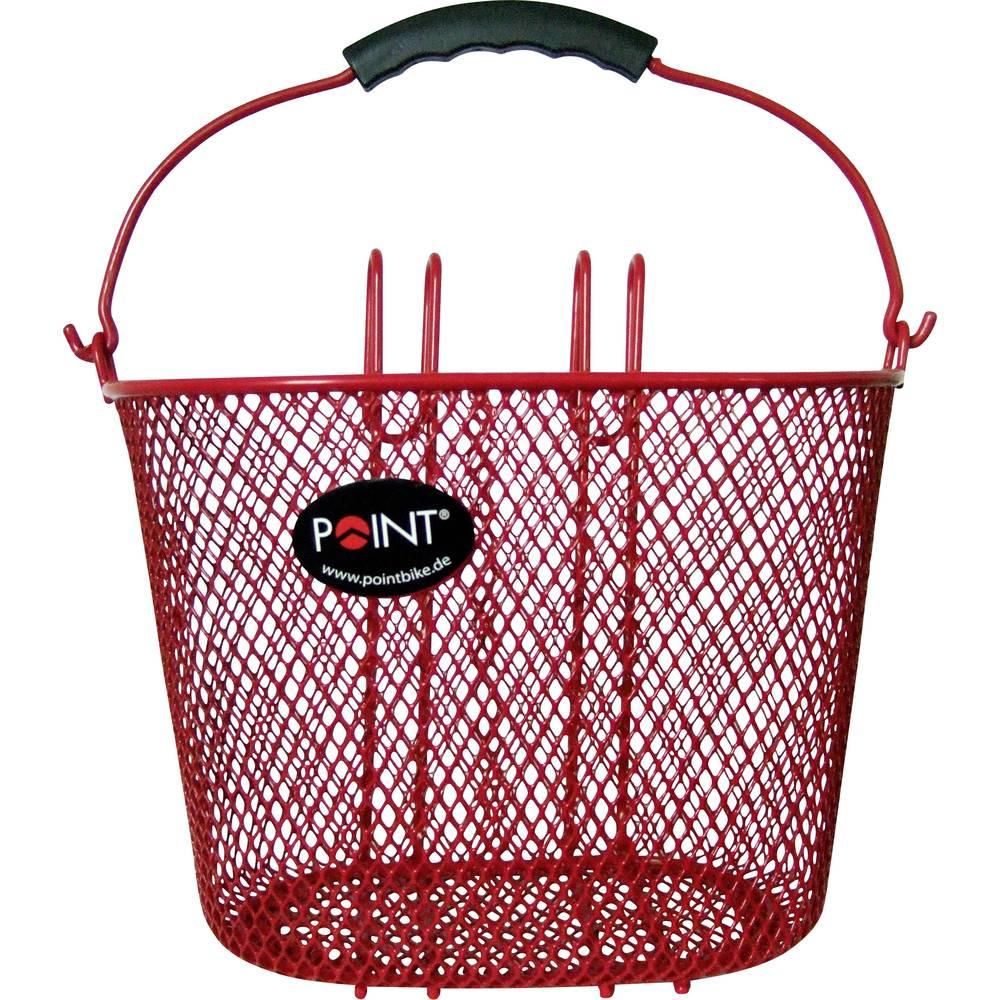 Point 5107600 košara za bicikl crvena