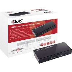 4 ulaza HDMI razdjelnik club3D CSV-1380 4096 x 2160 piksel crna
