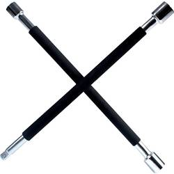 IWH 020870 križni ključ za kolesa (D x Š x V) 375 x 375 x 40 mm