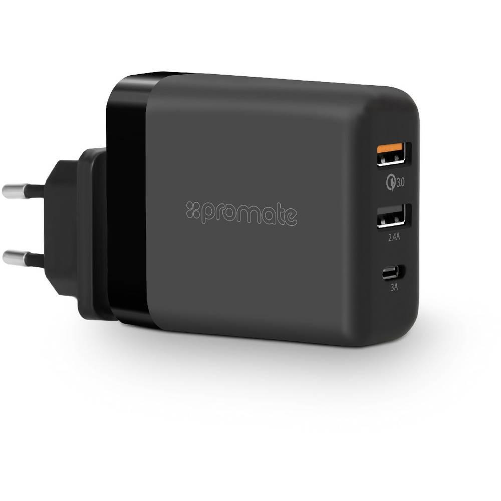 Pro Mate PowerHub-QC PowerHubQC-EU USB napajalnik Vtičnica Izhodni tok maks. 6000 mA 3 x Ženski konektor USB 3.0 tipa A, Ženski