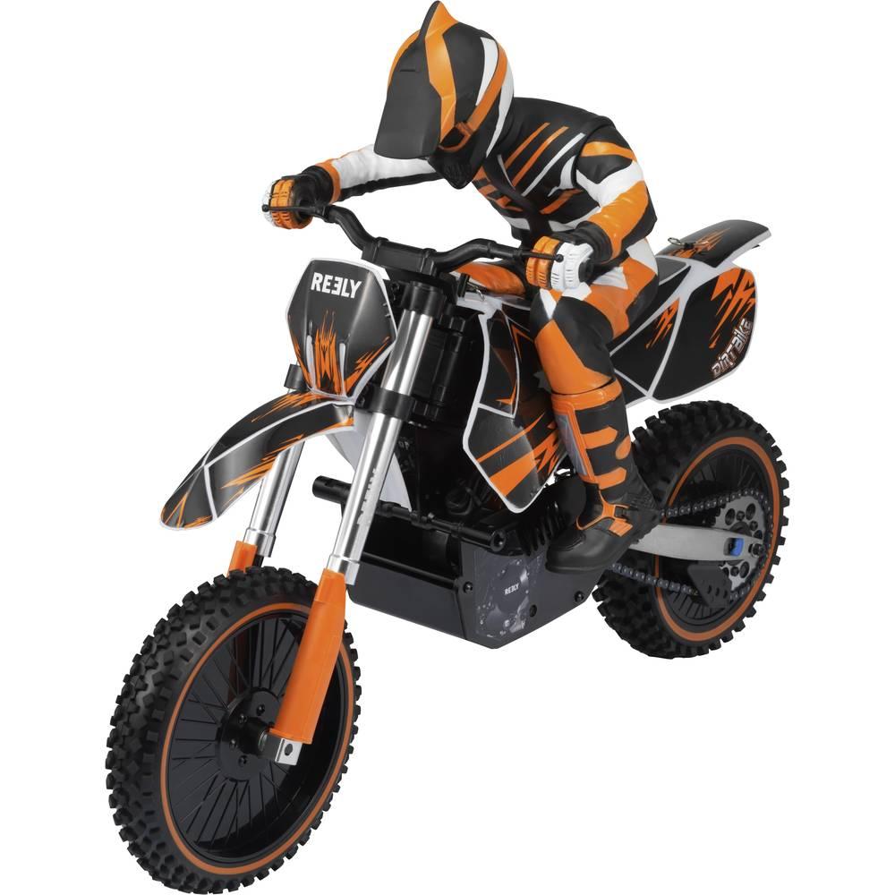 Reely Dirtbike brez ščetk 1:4 RC Motorno kolo Elektro RtR 2,4 GHz