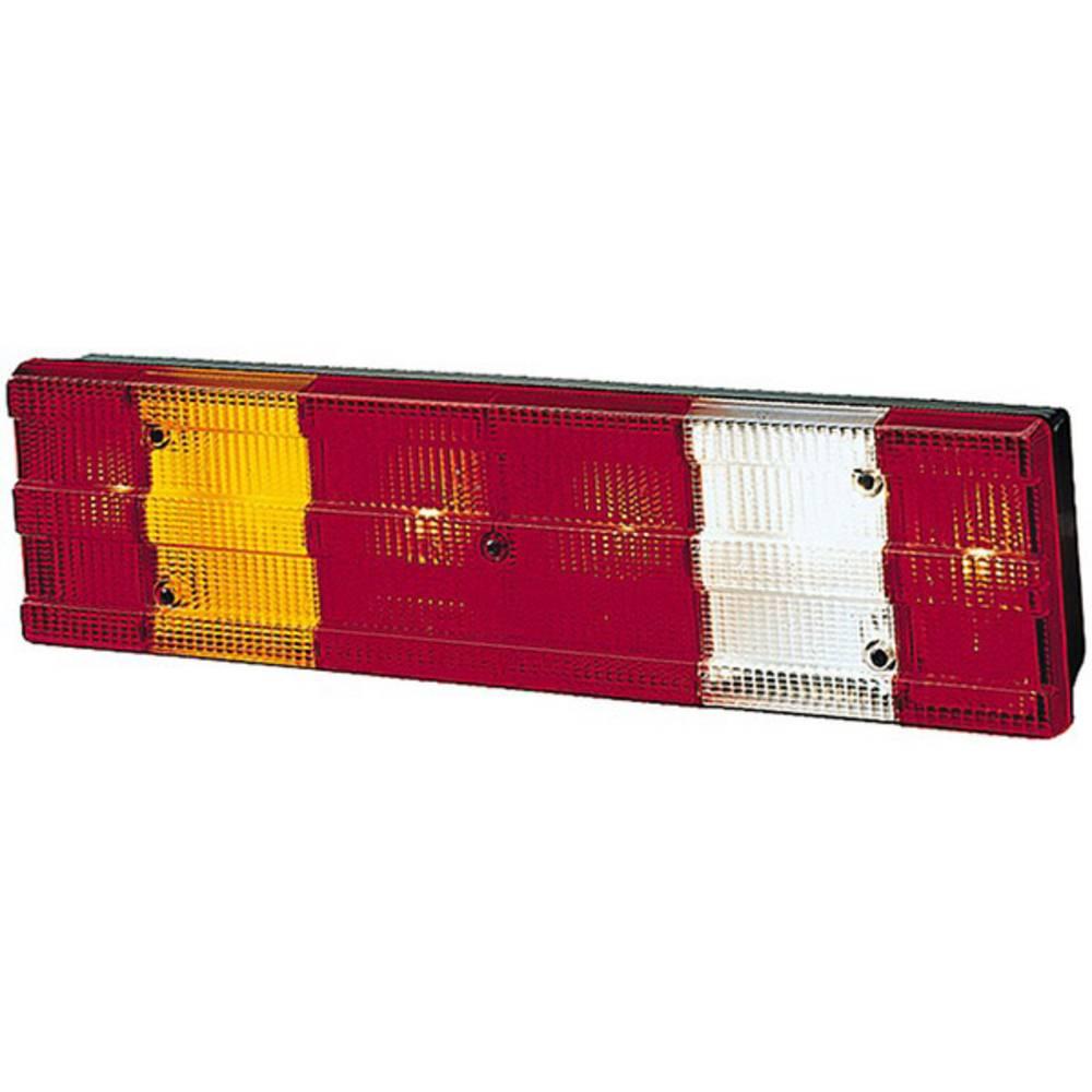 N/A Zadnje luči za tovorna vozila Odsevnik, Zadnja luč, Zaviralna luč, Smerni kazalec, Vzvratna luč Zadaj, Na desni 24 V Hella