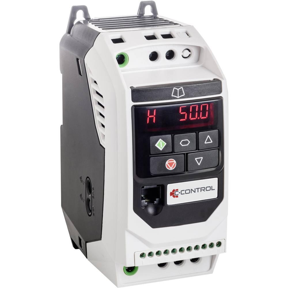 pretvarač frekvencije C-Control CDI-075-1C3 0.75 kW 1-fazni 230 V