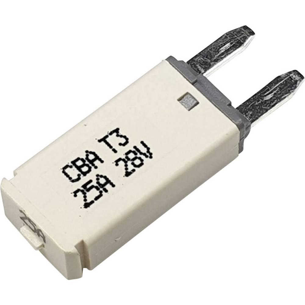 Hansor Circuit Breaker Mini, type 3. Manual Reset, 25A CBA3 Series 25A avtomatska varovalka standardne ploščate varovalke 25 A b