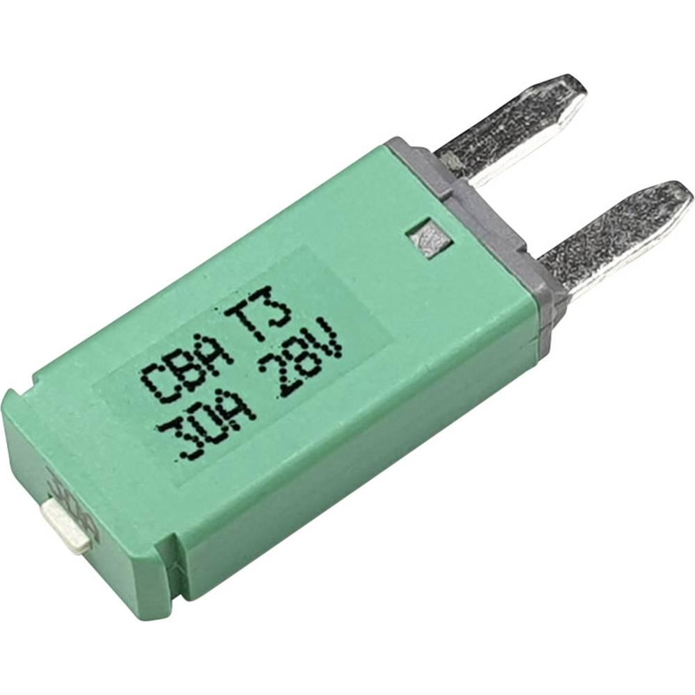 Hansor Circuit Breaker Mini, type 3. Manual Reset, 30A CBA3 Series 30A avtomatska varovalka standardne ploščate varovalke 30 A z