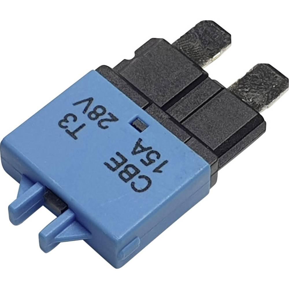 Hansor Circuit Breaker Standard, type 3, Manual Reset, 15A CBE3 Series 15A avtomatska varovalka standardne ploščate varovalke 15
