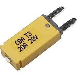 Hansor Circuit Breaker Mini, type 3. Manual Reset, 20A CBA3 Series 20A Avtomatska varovalka standardne ploščate varovalke 20 A R