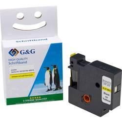 G & G D1 Pisalni trak Barva traku: Rumena Barva pisave: Črna 9 mm 7 m