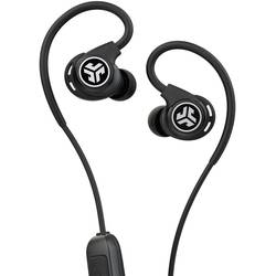 Bluetooth® Sportske Naglavne slušalice JLab Fit Sport Wireless Fitness U ušima Otporne na znojenje, Vodoodbojne, Slušalice s