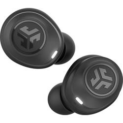 JLab JBuds Air True Wireless In Ear Prilagoditev zvoka, Vodoodporne Črna