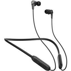 JLab JBuds Band Wireless Neckband Bluetooth® In Ear Naglavni komplet, Prilagoditev zvoka, Vodoodporne Črna