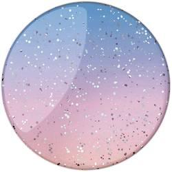 POPSOCKETS Glitter Morning Haze stojalo za mobilni telefon svetlo modra, roza, lesketajoči učinek