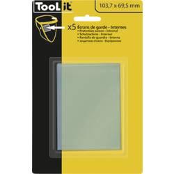 Zamjenska stakla za zaštitnu kacigu za zavarivanje Toolit 043695