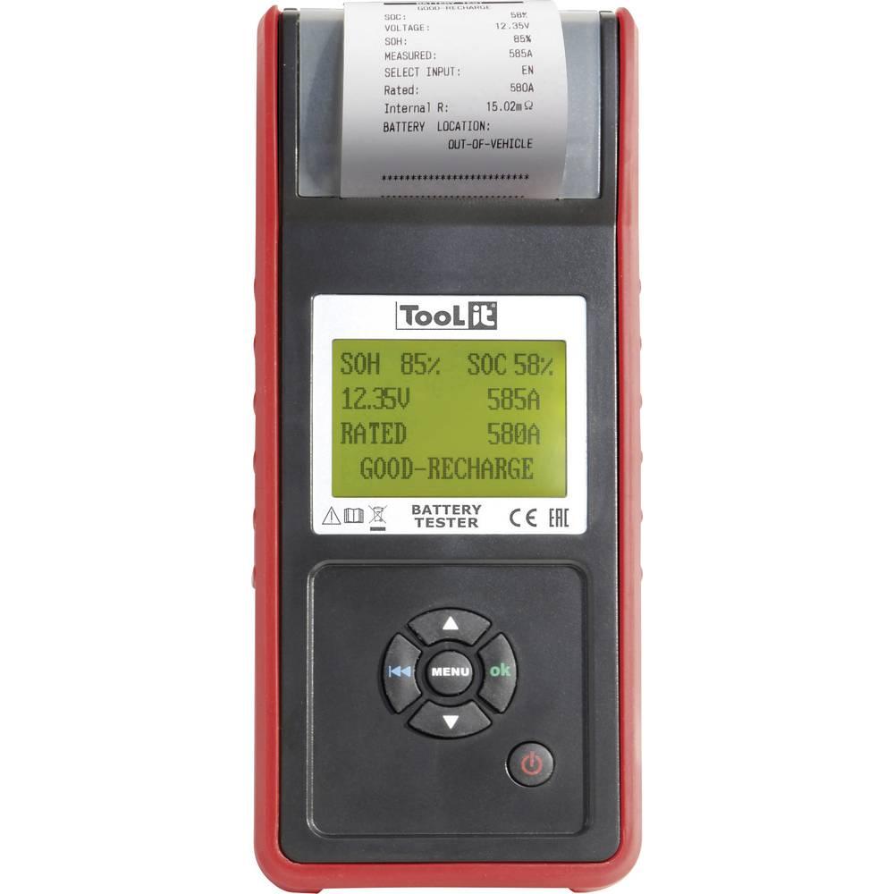 Toolit PBT600 - START/STOP tester za avtomobilski akumulator, nadzorna naprava za akumulator 120 cm