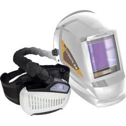 GYS 5/13 AIR TRUE COLOR XXL 047846 Varnostna čelada za varilce z zaščito dihal s sistemom za dovajanje zraka Bela EN 166, EN 175